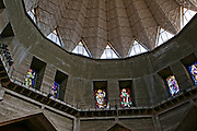 Israel, Lower Galilee, Nazareth. Interior of the Basilica of the Annunciation