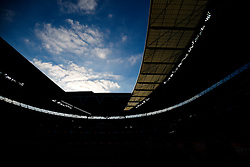General View of the roof at Wembley - Photo mandatory by-line: Rogan Thomson/JMP - 07966 386802 - 22/03/2015 - SPORT - FOOTBALL - London, England - Wembley Stadium - Bristol City v Walsall - Johnstone's Paint Trophy Final.