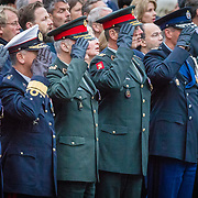 NLD/Amsterdam/20170504 - Nationale Herdenking 2017, militairen