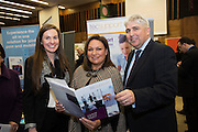 Norah Casey and Tech Support team led by Thomas Cox  at the annual SCCUL Enterprise Awards prize giving ceremony and business expo which was hosted by NUI Galway in the Bailey Allen Hall, NUIG. Photo:Andrew Downes