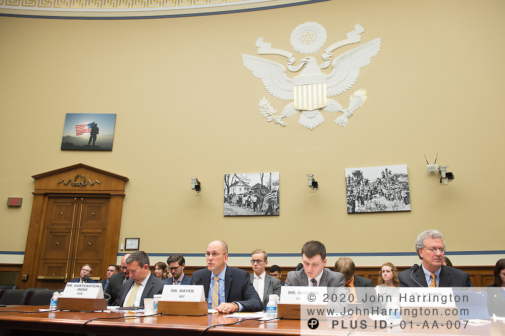 Mr. Matt Mayer, Visiting Fellow, Homeland Security Studies, American Enterprise Institute testifies on Wednesday September 14, 2017 hearing before the U.S. House Subcommittee on National Security hearing to address the scope of radicalization, and assess what steps can be taken to mitigate the rise of terror via lone wolf attacks and organized terrorist plots, with testimony by Mr. Daveed Gartenstein-Ross, Senior Fellow, Foundation for Defense of Democracies; Mr. Matt Mayer, Visiting Fellow, Homeland Security Studies, American Enterprise Institute; Mr. David Inserra, Policy Analyst, Foreign and National Security Policy, The Heritage Foundation; Mr. Richard Cohen,President,Southern Poverty Law Center.