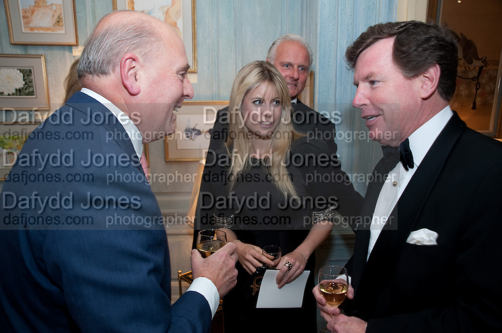 MARK HENDERSON; VIOLET HENDERSON; TOM QUICK, An exhibition of watercolours by William Rayner at Mallet's, New Bond St. Party afterwards at Bellami's, bruton Place. London. 16 June 2010. .-DO NOT ARCHIVE-© Copyright Photograph by Dafydd Jones. 248 Clapham Rd. London SW9 0PZ. Tel 0207 820 0771. www.dafjones.com.