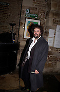Stephen Poliakof, Sweet Panic opening night party, Crypt. St. Matin's Lane. 12 November 2003. © Copyright Photograph by Dafydd Jones 66 Stockwell Park Rd. London SW9 0DA Tel 020 7733 0108 www.dafjones.com
