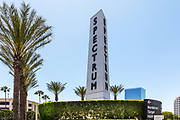 Irvine Spectrum Center Obelisk Monument