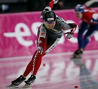 Skøyter ,<br /> -essent  ISU World Allround Speed Skating Championships 2009,7-8 February<br /> Vikingskipet , Hamar<br /> 08.02.09<br /> <br /> Foto: Dagfinn Limoseth, Digitalsport<br /> Kristina Groves , CAN