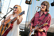 Teresa Williams & Larry Campbell with The Levon Helm Band at Gathering of the Vibes 2011