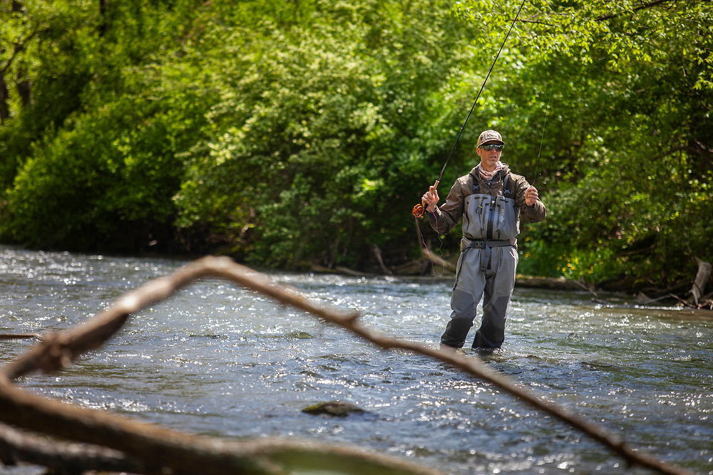 Flyfisherman George Daniel