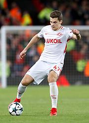 Spartak Moscow's Roman Zobnin