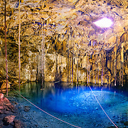 Cenote Xkakah at Dzitnup, near Valladolid, Yucatan, Mexico