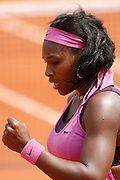 Roland Garros. Paris, France. June 3rd 2007..Serena WILLIAMS against Dinara SAFINA.