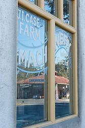 Reflection of Waring General Store, Waring, Texas USA