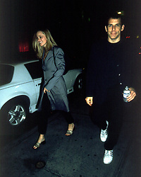 Nov 09, 2001; New York, NY, USA;  ! Reps confirmed Thursday, November 8, that actor BEN STILLER & wife CHRISTINE TAYLOR are expecting their 1st baby. Picture shows the parents-to-be on a night stroll in Manhattan, 11/1/01. They were in town to film a NYC-Tourist commercial with Kevin Bacon (Credit Image: © Fernando Salas/ZUMAPRESS.com)