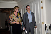 JULIA PEYTON-JONES; HANS ULRICH OBRIST; Frank Gehry Serpentine Pavilion opening event: Berkeley Hotel. London. 18 July 2008 *** Local Caption *** -DO NOT ARCHIVE-© Copyright Photograph by Dafydd Jones. 248 Clapham Rd. London SW9 0PZ. Tel 0207 820 0771. www.dafjones.com.