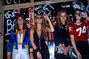 The Runaways - Vicki Blue, Joan Jett, Sandy West and Lita Ford,  photographed in 1978.