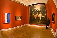 "George Washington pieces (Politics), ""American Evolution"" exhibition, Corcoran Gallery of Art, Washington D.C., U.S.A."