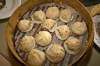 Dim Sum, Lu Bo Lang Restaurant, Yu Garden Bazaar, Shanghai, China