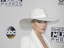 November 20, 2016 - Los Angeles, California, U.S - Lady Gaga on the Red Carpet of the 2016 American Music  Awards held on Sunday, November 20, 2016 at the Microsoft  Theatre in Los Angeles, California. (Credit Image: © Prensa Internacional via ZUMA Wire)