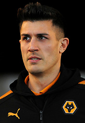 Danny Batth of Wolverhampton Wanderers arrives at the Liberty Stadium -Mandatory by-line: Nizaam Jones/JMP- 17/01/2018 - FOOTBALL - Liberty Stadium- Swansea, Wales - Swansea City v Wolverhampton Wanderers - Emirates FA Cup third round proper