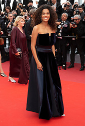 'Les Miserables' during the 72nd Cannes Film Festival at Palais des Festivals in Cannes, France, on 15 May 2019. 15 May 2019 Pictured: Tina Kunakey attends the premiere of 'Les Miserables' during the 72nd Cannes Film Festival at Palais des Festivals in Cannes, France, on 15 May 2019. Photo: Vinnie Levine. Photo credit: Vinnie Levine / MEGA TheMegaAgency.com +1 888 505 6342