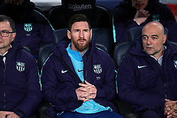 February 6, 2019 - Barcelona, Spain - Leo Messi during the match between FC Barcelona and Real Madrid corresponding to the first leg of the 1/2 final of the spanish cup, played at the Camp Nou Stadium, on 06th February 2019, in Barcelona, Spain. (Credit Image: © Joan Valls/NurPhoto via ZUMA Press)
