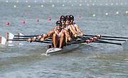 Plovdiv BULGARIA. 2017 FISA. Rowing World U23 Championships. <br /> POR BLM4X. Bow. SOUSA, Eduardo, MENEZES, Pedro Duarte, ALLEN COELHO, Diogo. and VIEIRA, Eduardo<br /> <br /> Wednesday. PM,  Heats 17:00:11  Wednesday  19.07.17   <br /> <br /> [Mandatory Credit. Peter SPURRIER/Intersport Images].