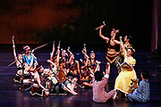 Bay Pointe Ballet performs Bruce Steivel's Peter Pan at the San Mateo Performing Arts Center in San Mateo, California, on September 24, 2016. (Stan Olszewski/SOSKIphoto)