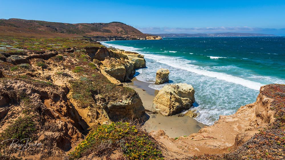 Skunk Point Beach, Santa Rosa Island, Channel Islands National Park, California USA