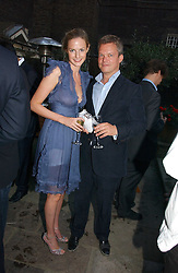 SOREN JESSEN and EUGENIE WARRE at the Tatler Summer Party 2006 in association with Fendi held at Home House, Portman Square, London W1 on 29th June 2006.<br /><br />NON EXCLUSIVE - WORLD RIGHTS