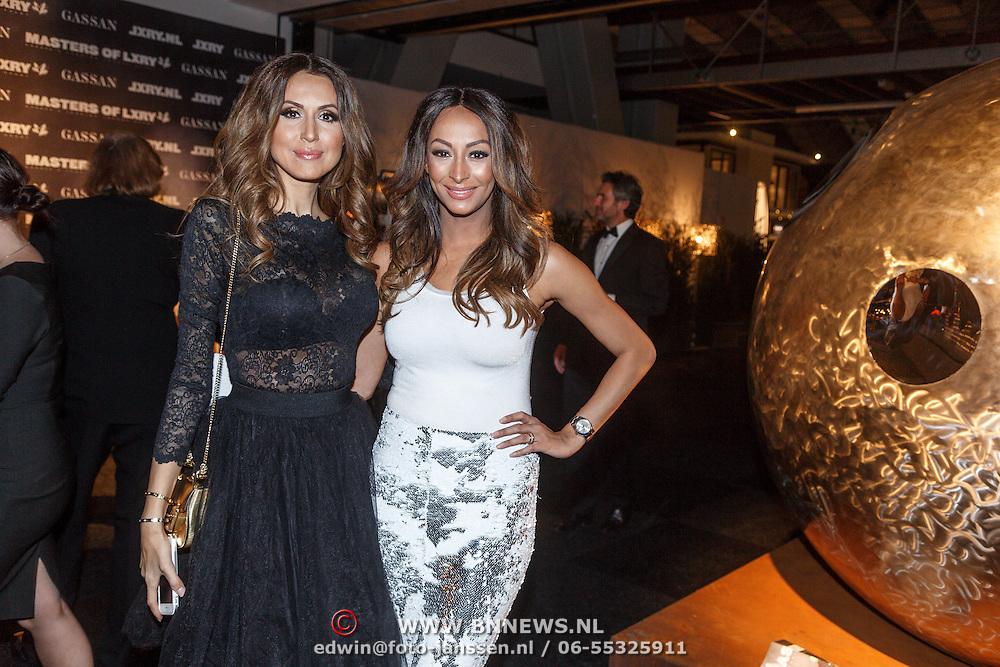 NLD/Amsterdam/20151210 - Vipnight LXRY Masters of Luxery 2015, Tamara Elbaz en Maria Tailor