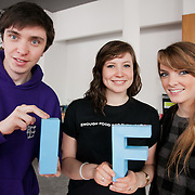 Tom Hall, Florence Maughn and Rebecca Merchant. The Power of IF was a free event organised by ActionAid and other organisations for the Enough Food for Everyone IF campaign. The event in London invied 16-25yr olds to come together to find out more about the campaign. The event was a mix of inspirational speakers and interactive workshops and was hosted by the British hip hop artist TY.