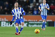 Brighton central midfielder, Beram Kayal (7) during the Sky Bet Championship match between Hull City and Brighton and Hove Albion at the KC Stadium, Kingston upon Hull, England on 16 February 2016. Photo by Ian Lyall.