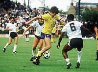 Peter Lorimer (Leeds United) Fulham v Leeds United. 17/8/85. Credit : Colorsport/Andrew Cowie.