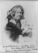 Elizabeth Cady Stanton and daughter Harriot Eaton Stanton Blatch 1856.