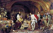 Ivan the Terrible Showing His Treasures to Jerome Horsey, by Alexander Litovchenko (1875)  Ivan IV 'the Terrible' (1530 – 1584) Tsar of Russia 1533 - 1584