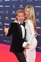 February 18, 2019 - Monaco, Monaco - Nico Rosberg and his wife Vivian Sibold arriving at the 2019 Laureus World Sports Awards on February 18, 2019 in Monaco  (Credit Image: © Famous/Ace Pictures via ZUMA Press)