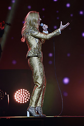 AU_1299870 - ** RIGHTS: WORLDWIDE EXCEPT IN AUSTRALIA, FRANCE, FRENCH POYNESIA, GERMANY, IRELAND, NEW ZEALAND, PORTUGAL, SPAIN, UNITED KINGDOM ** Sydney, AUSTRALIA  -  Celine Dion performs the first show of her Live 2018 tour of Australia<br />