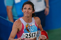 Ana Guevara MEX in action during Olympics Games Athletics day 12 on August 24, 2004 in Olympic Stadion Spyridon Louis, Athens.