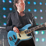 NLD/Rotterdam/20110422 - Concert Single's Only van Kane, bassist Ivo Severijns