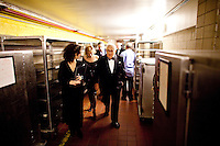 Dr. Henry Kissinger backstage after presenting Prof. Markus Schachter with The Directorate Award  at the 37th International Emmy Awards Gala in New York on Monday, November 23, 2009.  ***EXCLUSIVE***