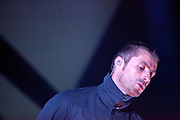 Beady Eye performing  at the  Riviera  Club in Madrid