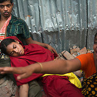 Rana Plaza 8 Storey Building collapsed in  around 8.45 morning on 24 April 2013 in Savar outskirt of Dhaka,Bangladesh. <br /><br />The building had 5 Garments, 1 bank and many shops. <br /><br />At least 350 killed and thousand inured