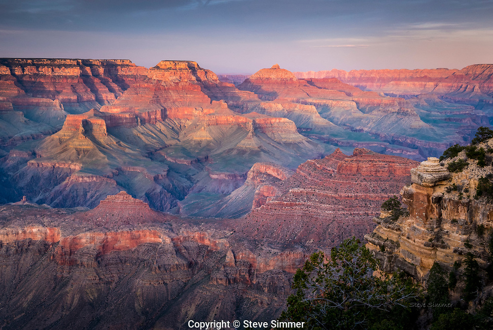 At Grand Canyon, every sunrise and sunset is a new performance.  There are no reruns here.