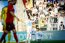 Roman Bezjak #14 of HNK Rijeka during football match between HNK Rijeka and HNK Cibala in Round #35 of 1st HNL League 2016/17, on May 21st, 2017 in Rujevica stadium, Rijeka, Croatia. Photo by Grega Valancic / Sportida