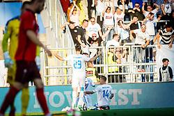 Roman Bezjak #14 of HNK Rijeka during football match between HNK Rijeka and HNK Cibala in Round #35 of 1st HNL League 2016/17, on May 21st, 2017 in Rujevica stadium, Rijeka, Croatia. Photo by Grega Valancic / Sportida