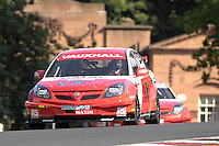 Italian driver Fabrizio Giovanardi (1) races in his VX Racing Vauxhall Vectra car during the first of the three touring car races on Sunday afternoon for the BTCC (2008 British Touring Car Championship) at Oulton Park, Cheshire, United Kingdom on July 27, 2008.  World Copyright: Peter Taylor/PSP. Copy of publication required for printed pictures. Every used picture is fee-liable.