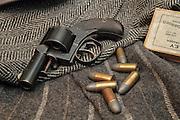 "Webley RIC ""Bulldog"" pistol with ammunition."