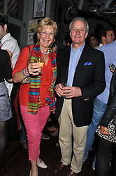 NEIL & CHRISTINE HAMILTON at a party to celebrate the opening of Bunga Bunga - a new Pizzeria & Bar, 37 Battersea Bridge Road, London SW11 on 1st September 2011.