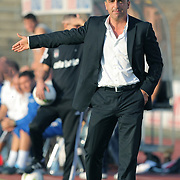 Besiktas's co trainer Carlos Carvalhal during their new season friendly soccer match Besiktas between Ergotelis at Sud Station Koln in Holland on Friday August 05, 2011. Photo by TURKPIX