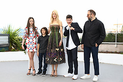 Producer Ed Guiney, actors Barry Keoghan, Raffey Cassidy, Nicole Kidman, Sunny Suljic and Yorgos Lanthimos attend the 'The Killing Of A Sacred Deer' photocall during the 70th annual Cannes Film Festival at Palais des Festivals on May 22, 2017 in Cannes, France. Photo by Shootpix/ABACAPRESS.COM