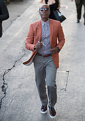 Don Cheadle is seen at 'Jimmy Kimmel Live' in Los Angeles, California. NON EXCLUSIVE April 26, 2018. 26 Apr 2018 Pictured: Don Cheadle. Photo credit: RB/Bauergriffin.com / MEGA TheMegaAgency.com +1 888 505 6342